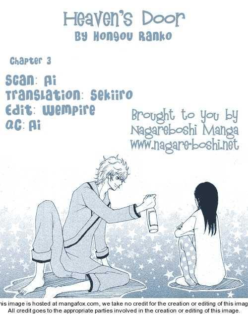 Heaven's Door (HONGOU Ranko) 3 Page 1