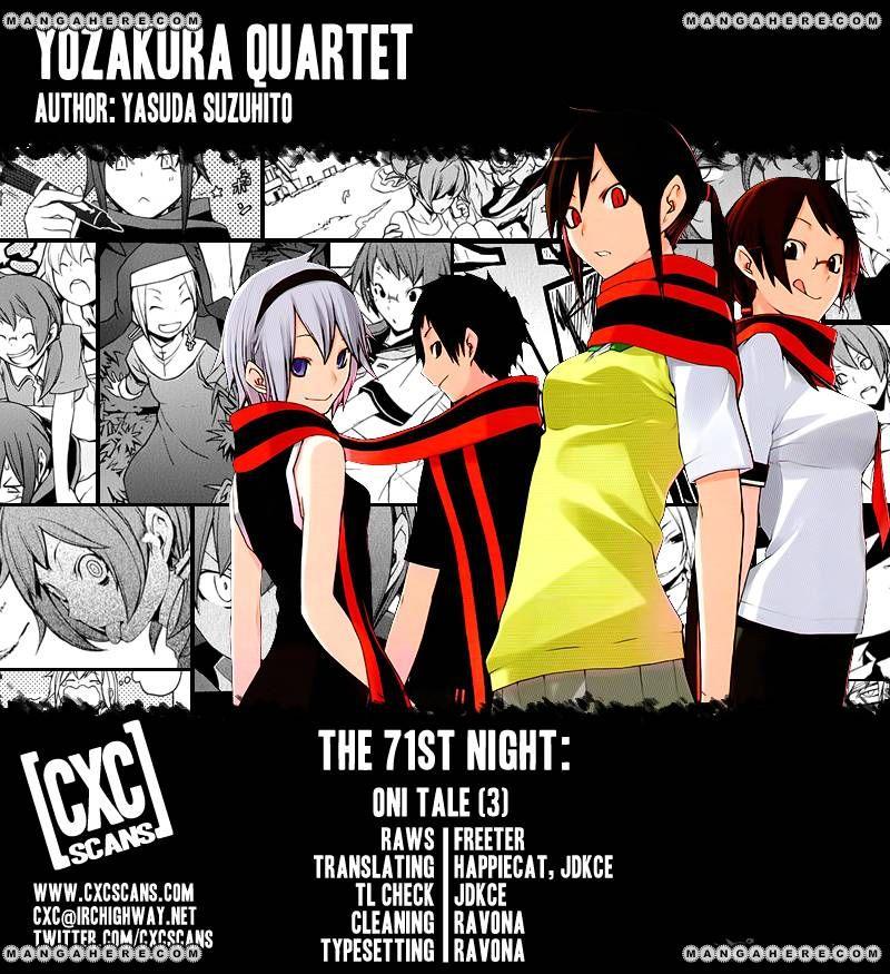 Yozakura Quartet 71 Page 1