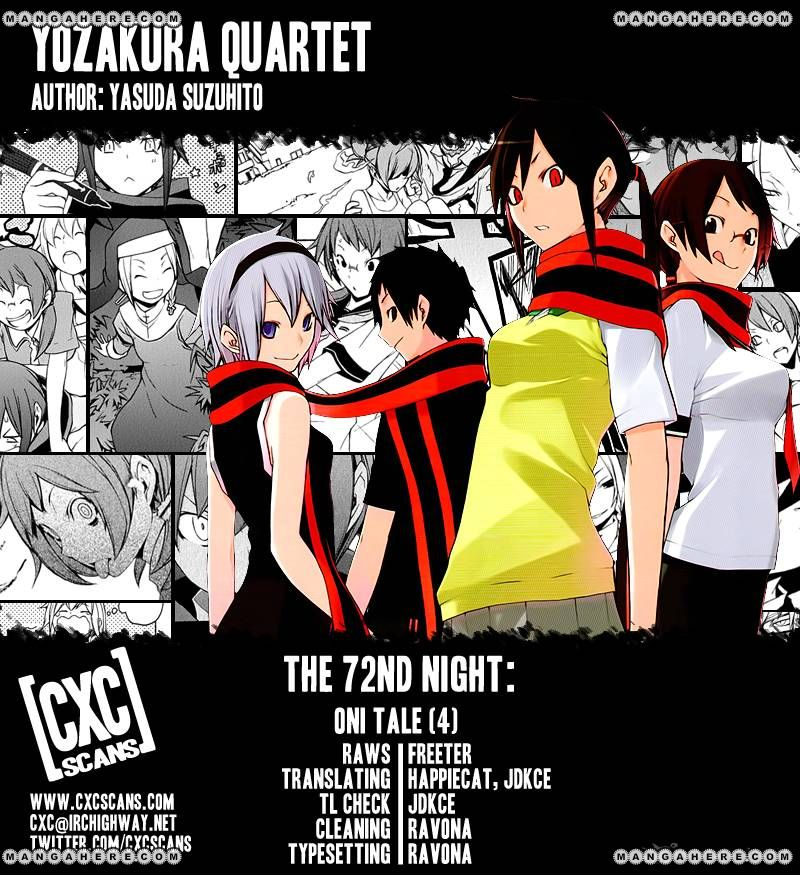 Yozakura Quartet 72 Page 1