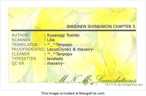 Shounen Shinkaron 5 Page 1