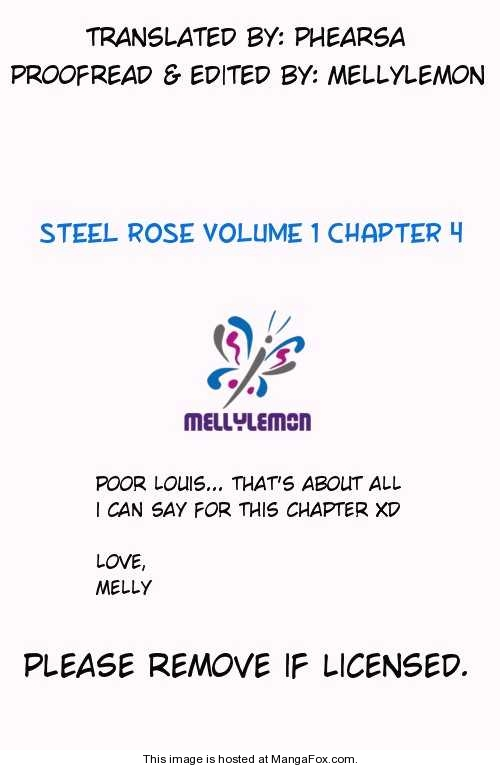 Steel Rose 4 Page 1