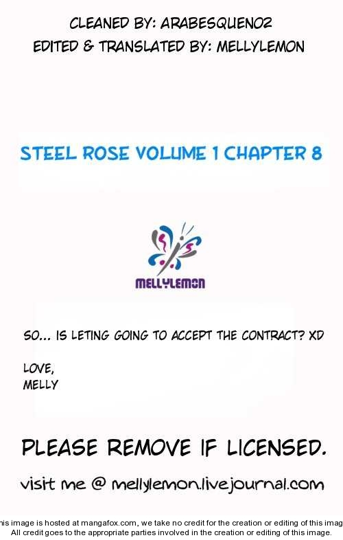 Steel Rose 8 Page 1