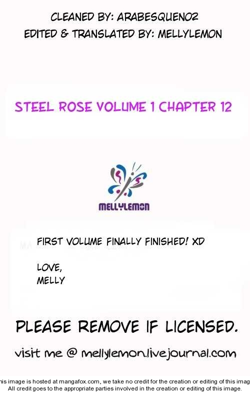 Steel Rose 12 Page 1