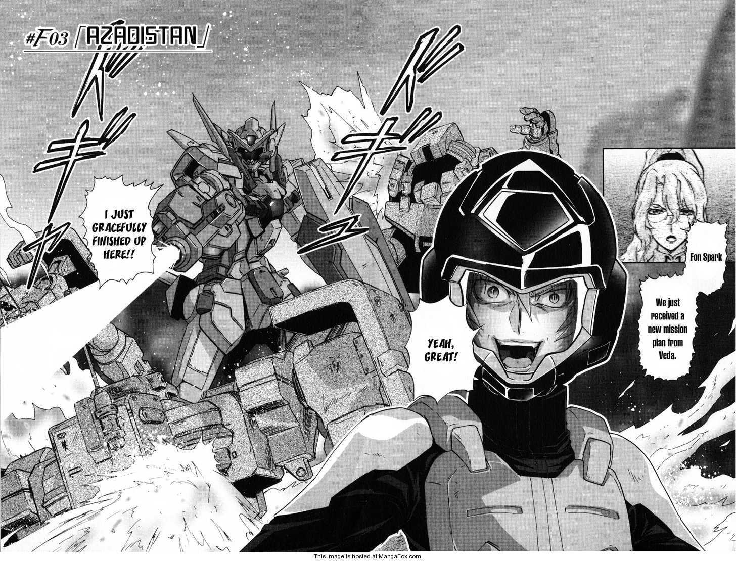 Kidou Senshi Gundam 00F 3 Page 2