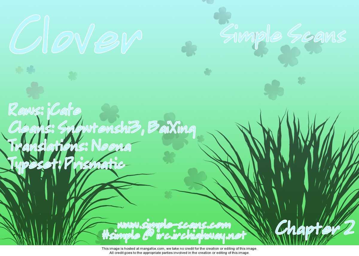 Clover (CHIYA Toriko) 2 Page 1