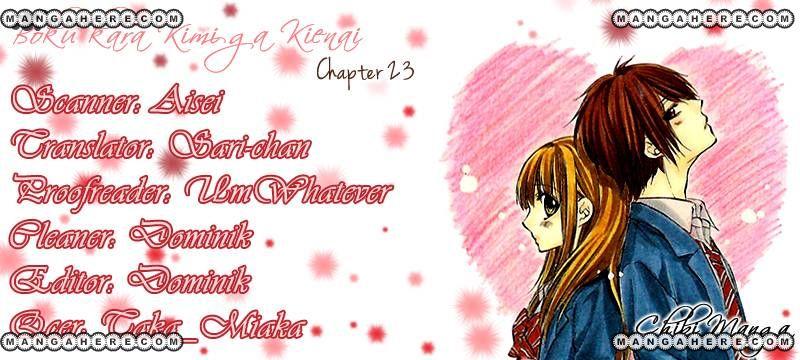 Boku kara Kimi ga Kienai 23 Page 1