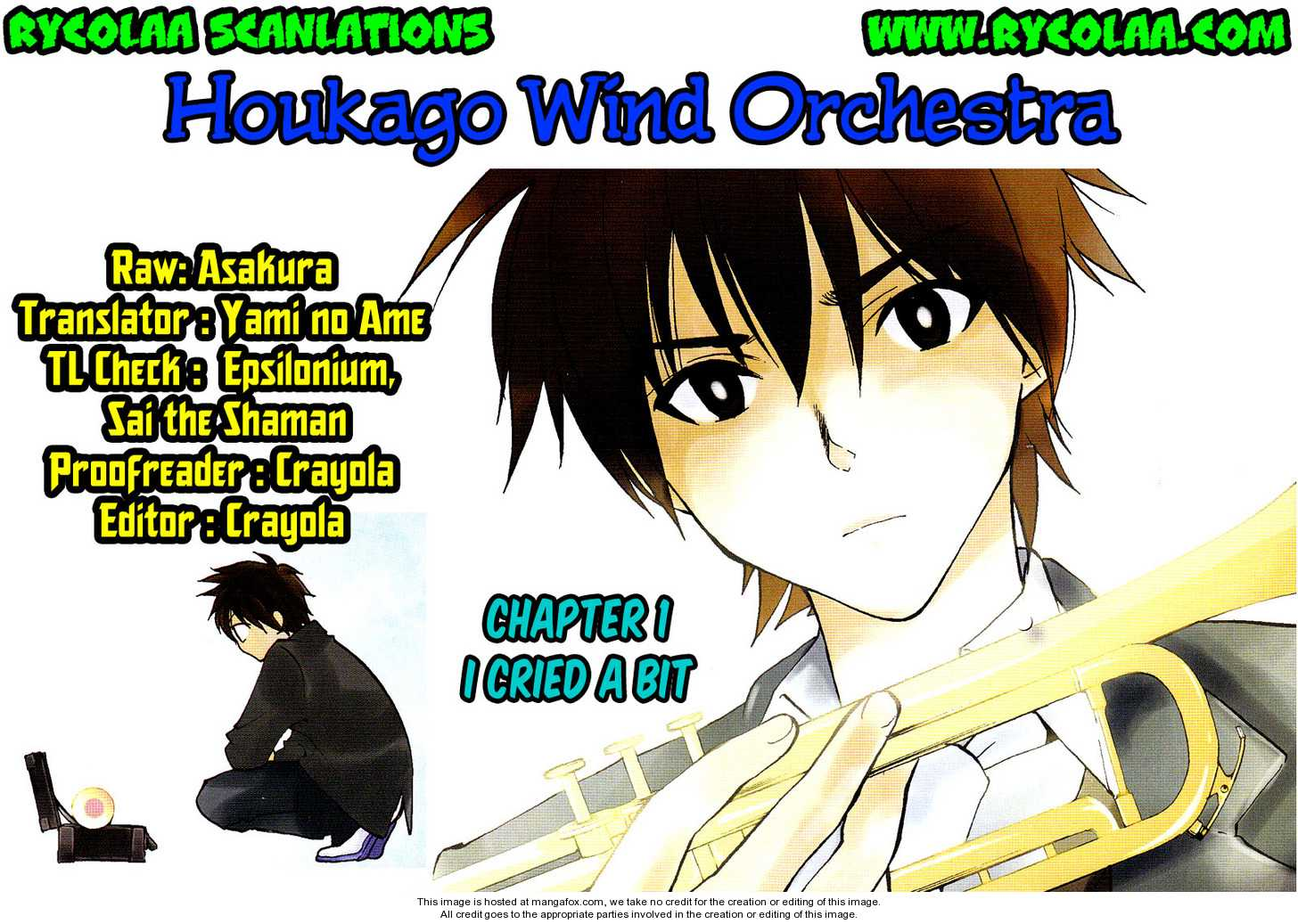Houkago Wind Orchestra 1 Page 1