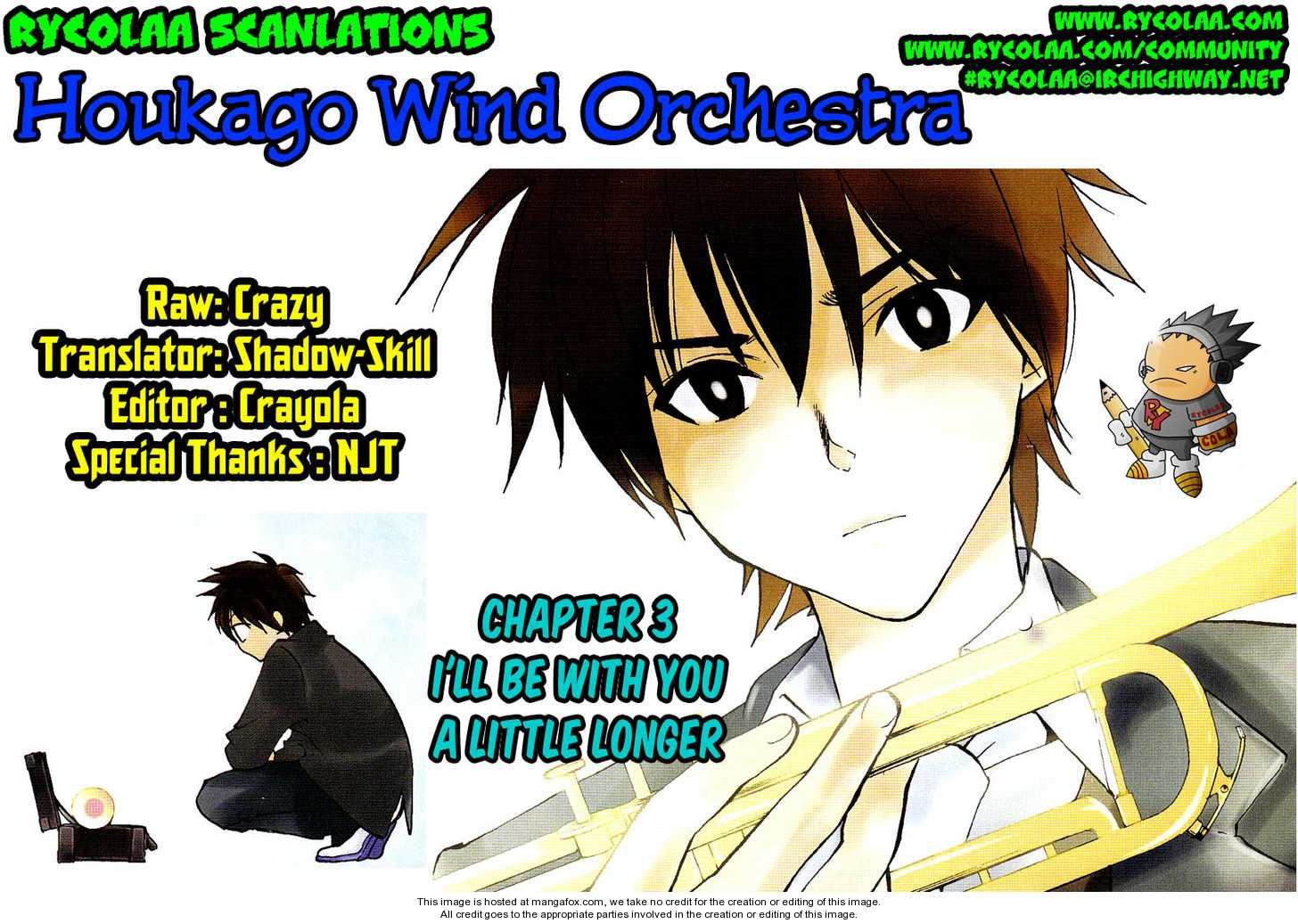 Houkago Wind Orchestra 3 Page 1