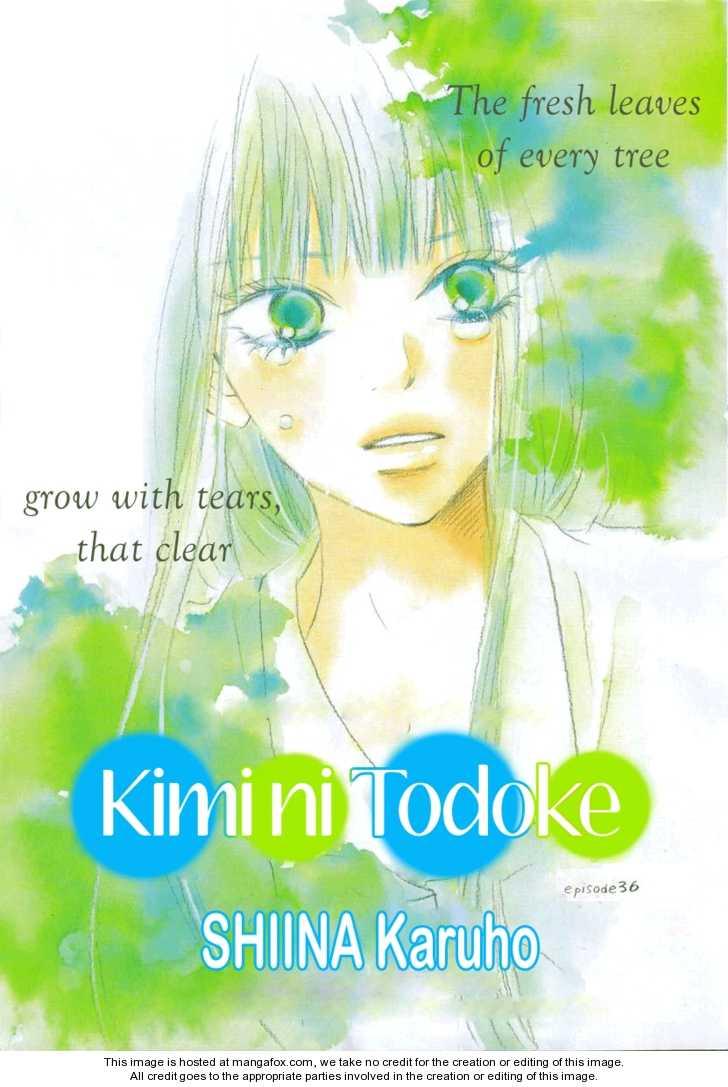 Kimi ni Todoke 36 Page 1