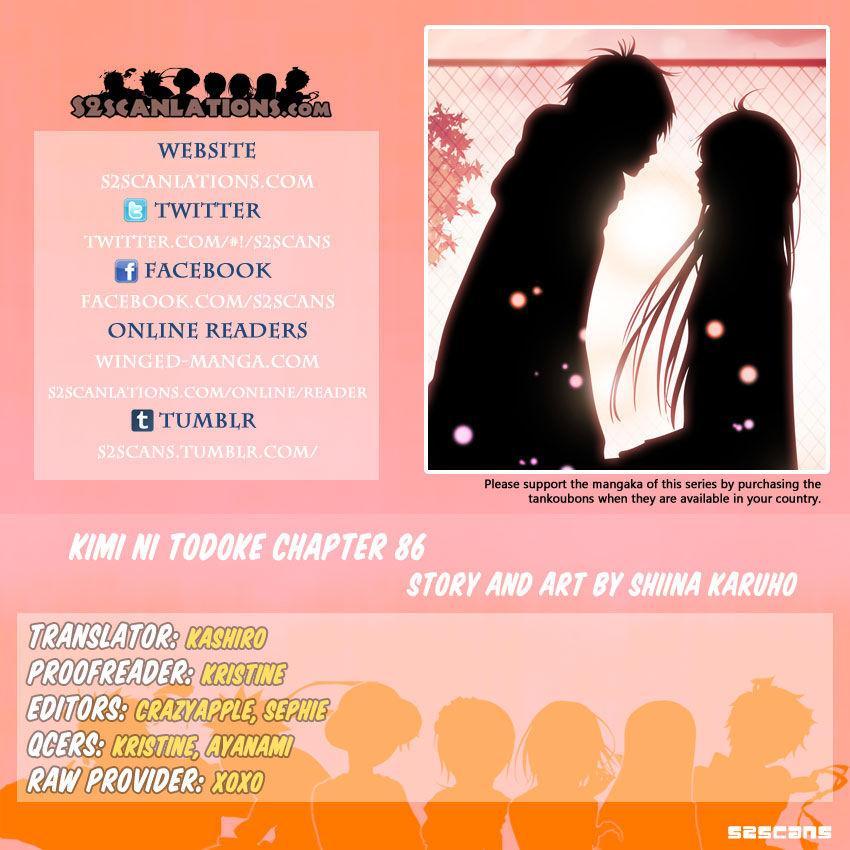 Kimi ni Todoke 86 Page 1