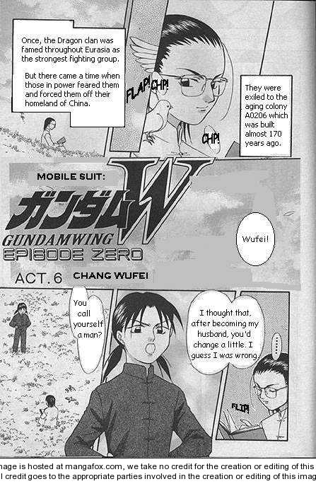 Shin Kidou Senki Gundam W: Episode Zero 7 Page 2