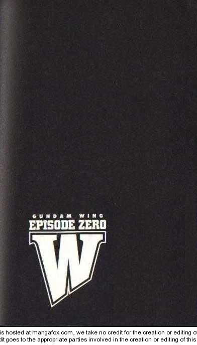 Shin Kidou Senki Gundam W: Episode Zero 8 Page 1