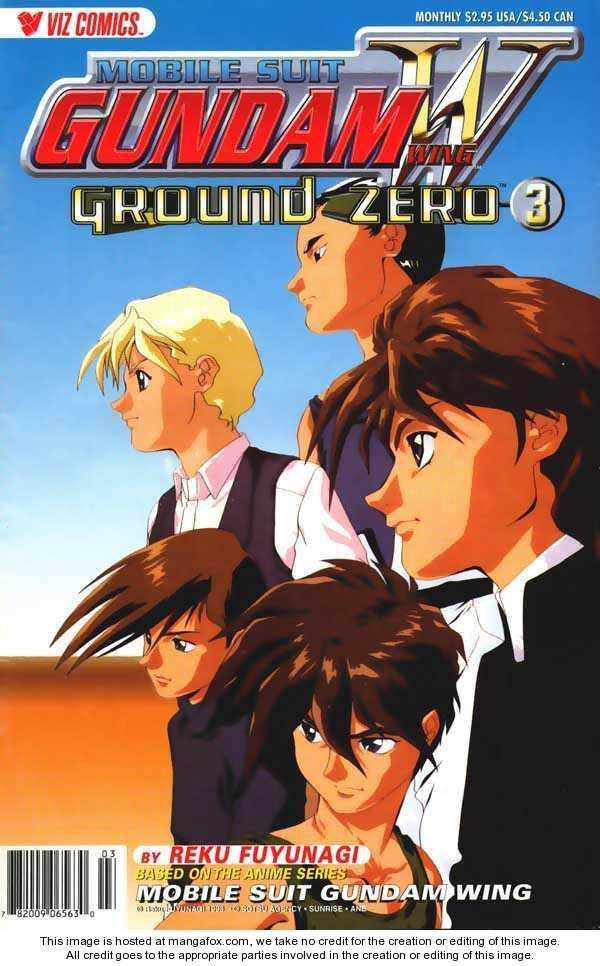 Shin Kidou Senki Gundam W: Ground Zero 3 Page 2
