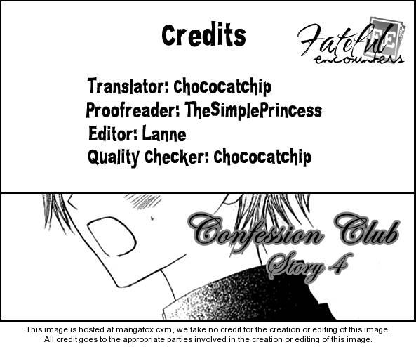Kokuhaku Kurabu 4 Page 1