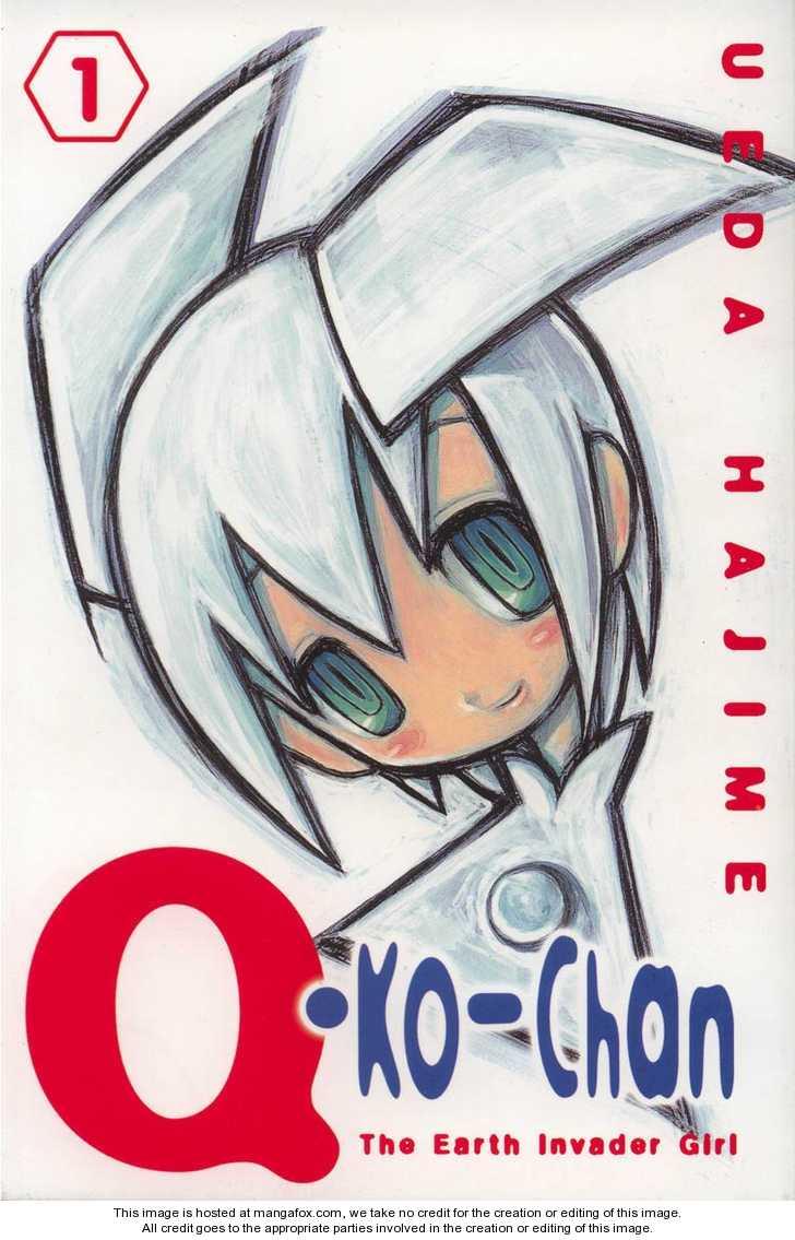 Q-ko-chan the Chikyuu Shinryaku Shoujo 1 Page 1