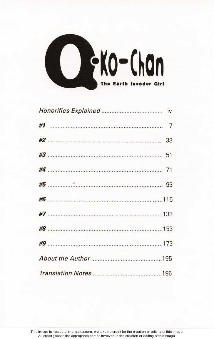 Q-ko-chan the Chikyuu Shinryaku Shoujo 1 Page 2