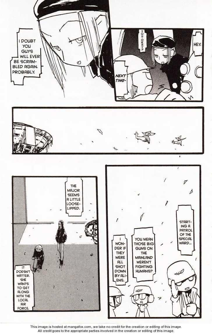 Q-ko-chan the Chikyuu Shinryaku Shoujo 5 Page 3