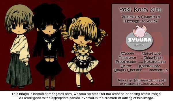 Yoki, Koto, Kiku 5 Page 1