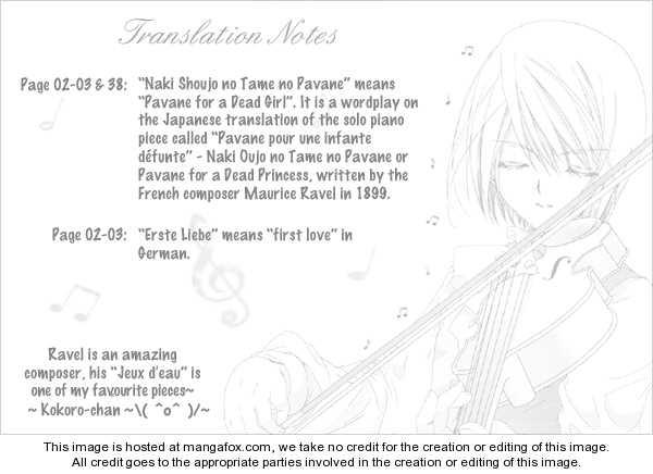 Naki Shoujo no Tame no Pavane 1 Page 1
