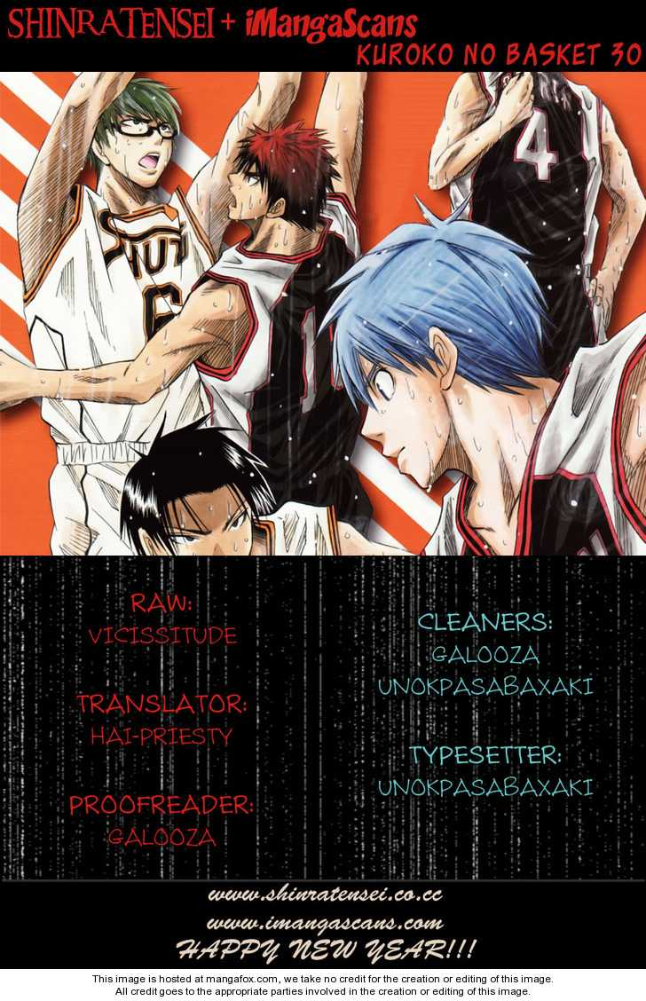 Kuroko no Basket 30 Page 1