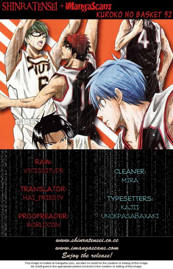 Kuroko no Basket 32 Page 1