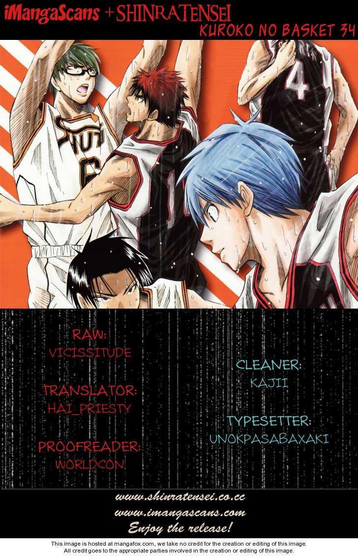 Kuroko no Basket 34 Page 1
