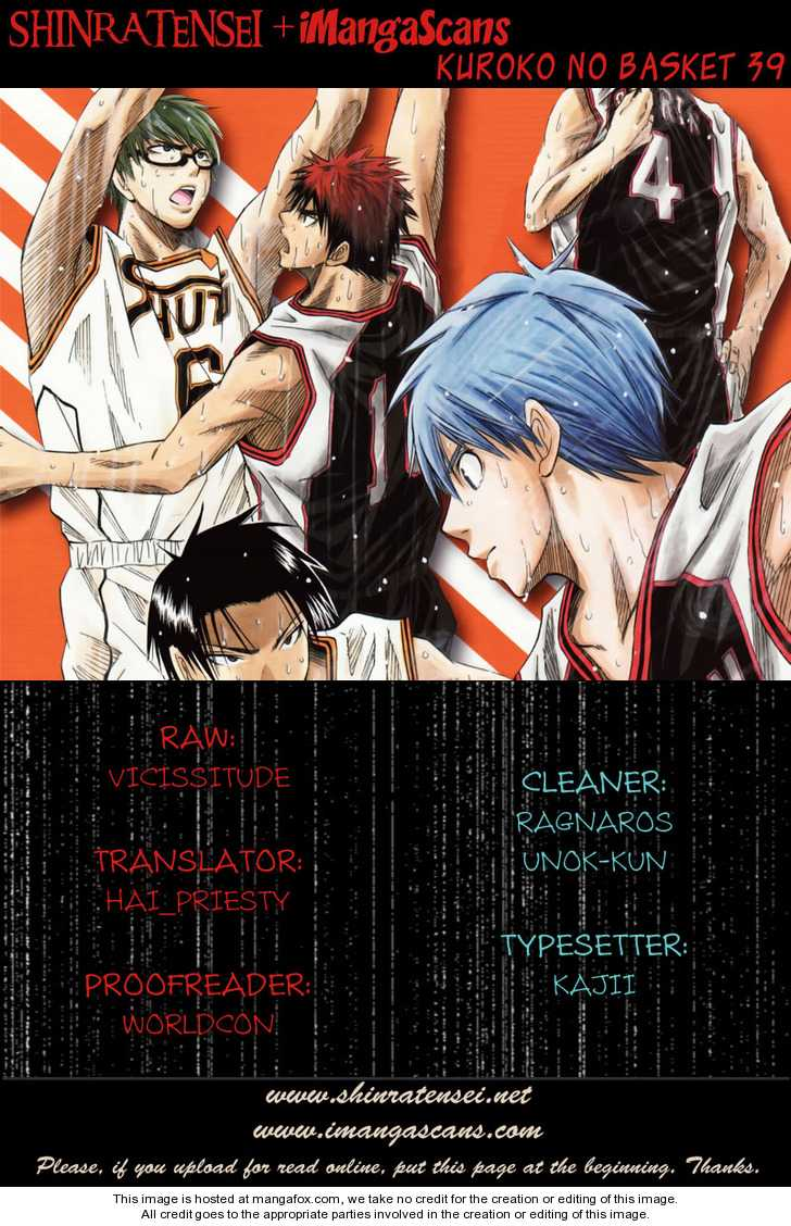 Kuroko no Basket 39 Page 1