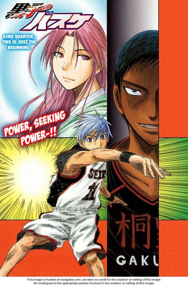 Kuroko no Basket 42 Page 2