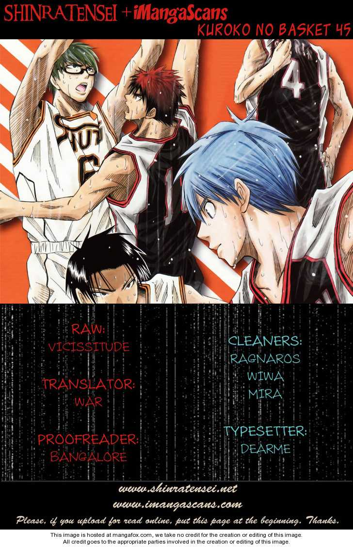 Kuroko no Basket 45 Page 1