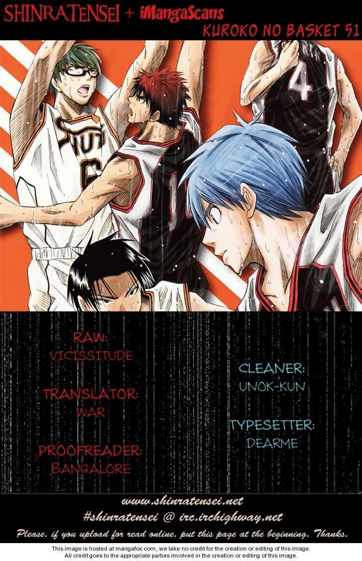 Kuroko no Basket 51 Page 1