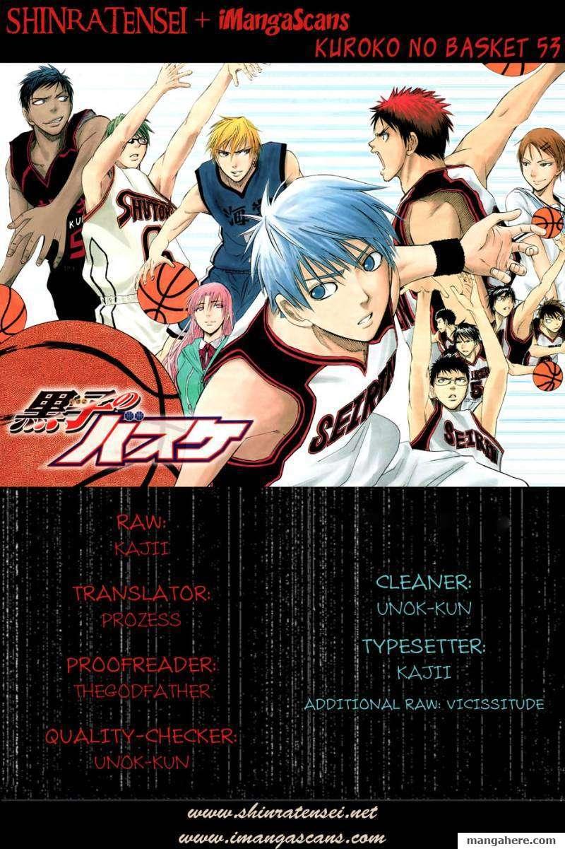 Kuroko no Basket 53 Page 1