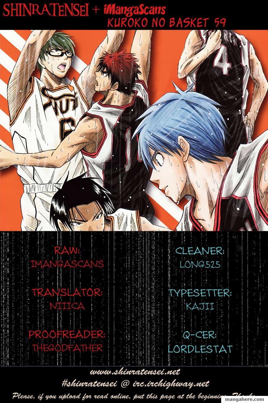 Kuroko no Basket 59 Page 1