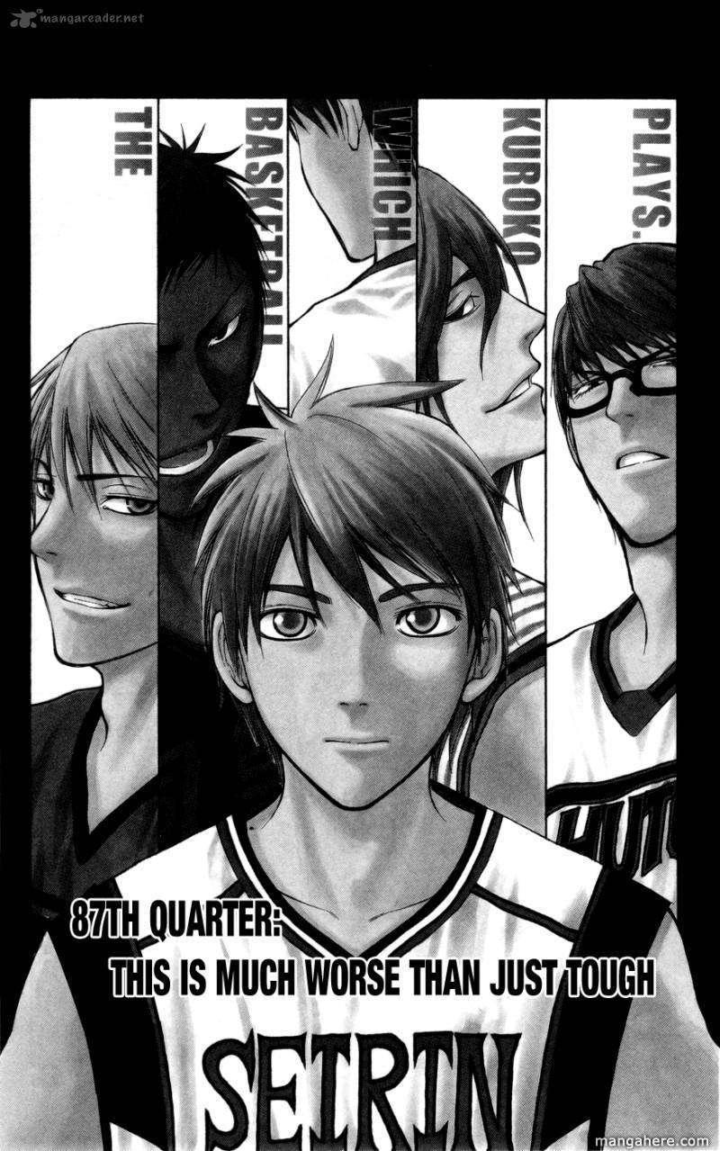 Kuroko no Basket 87 Page 1