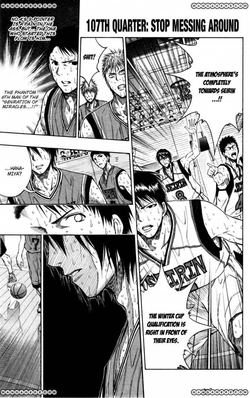 Kuroko no Basket 107 Page 1
