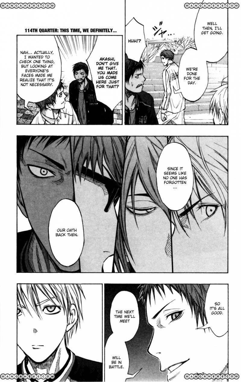 Kuroko no Basket 114 Page 1