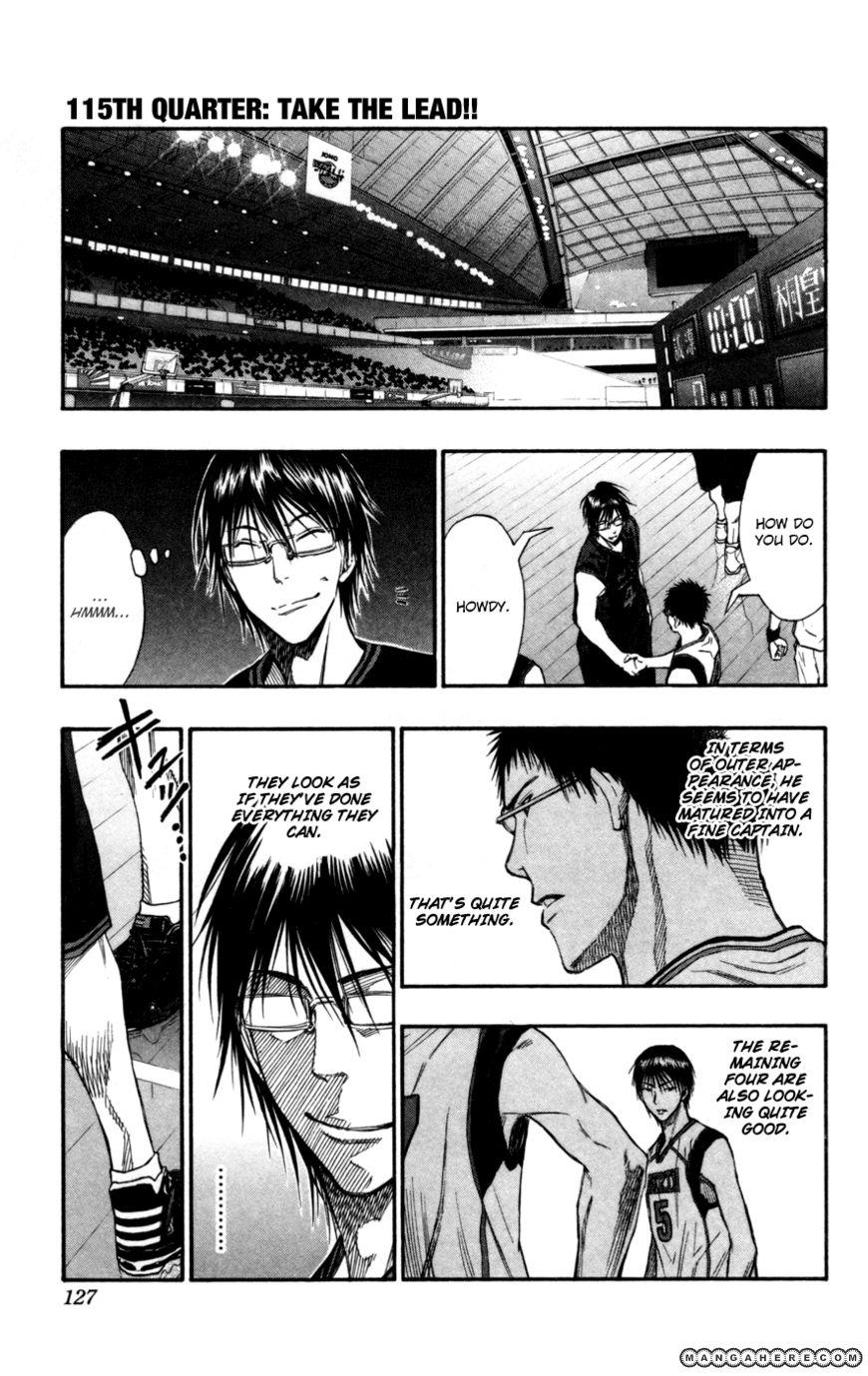 Kuroko no Basket 115 Page 1