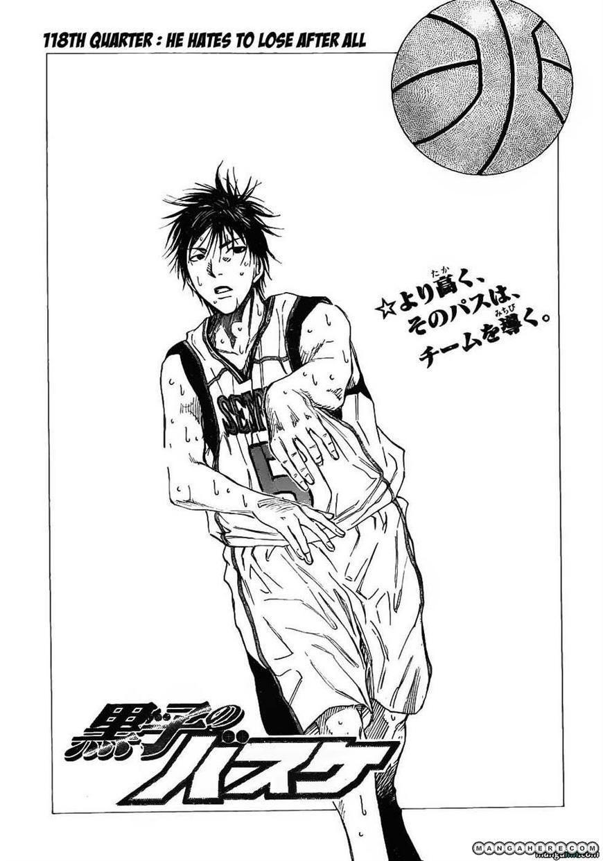 Kuroko no Basket 118 Page 3