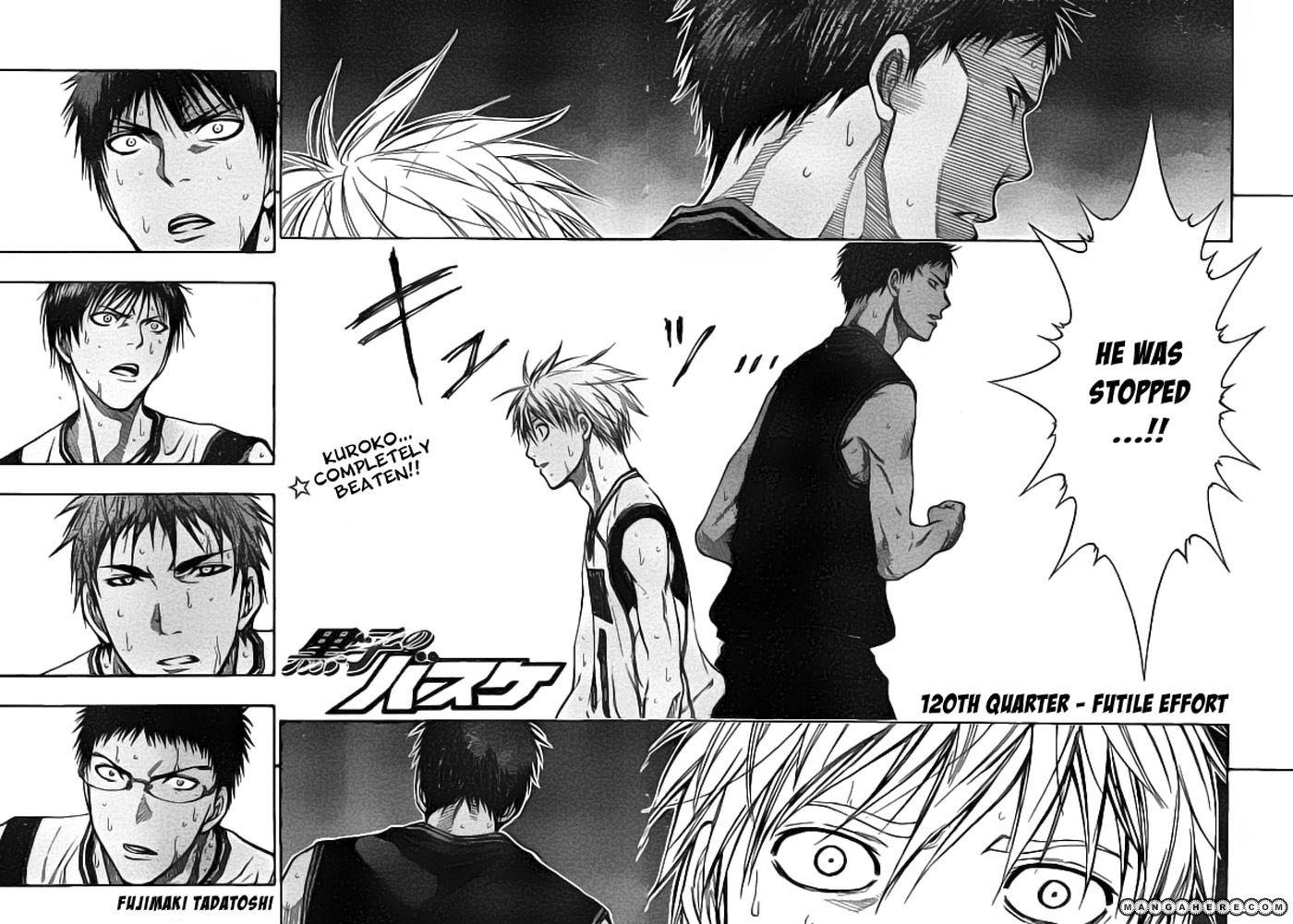 Kuroko no Basket 120 Page 2