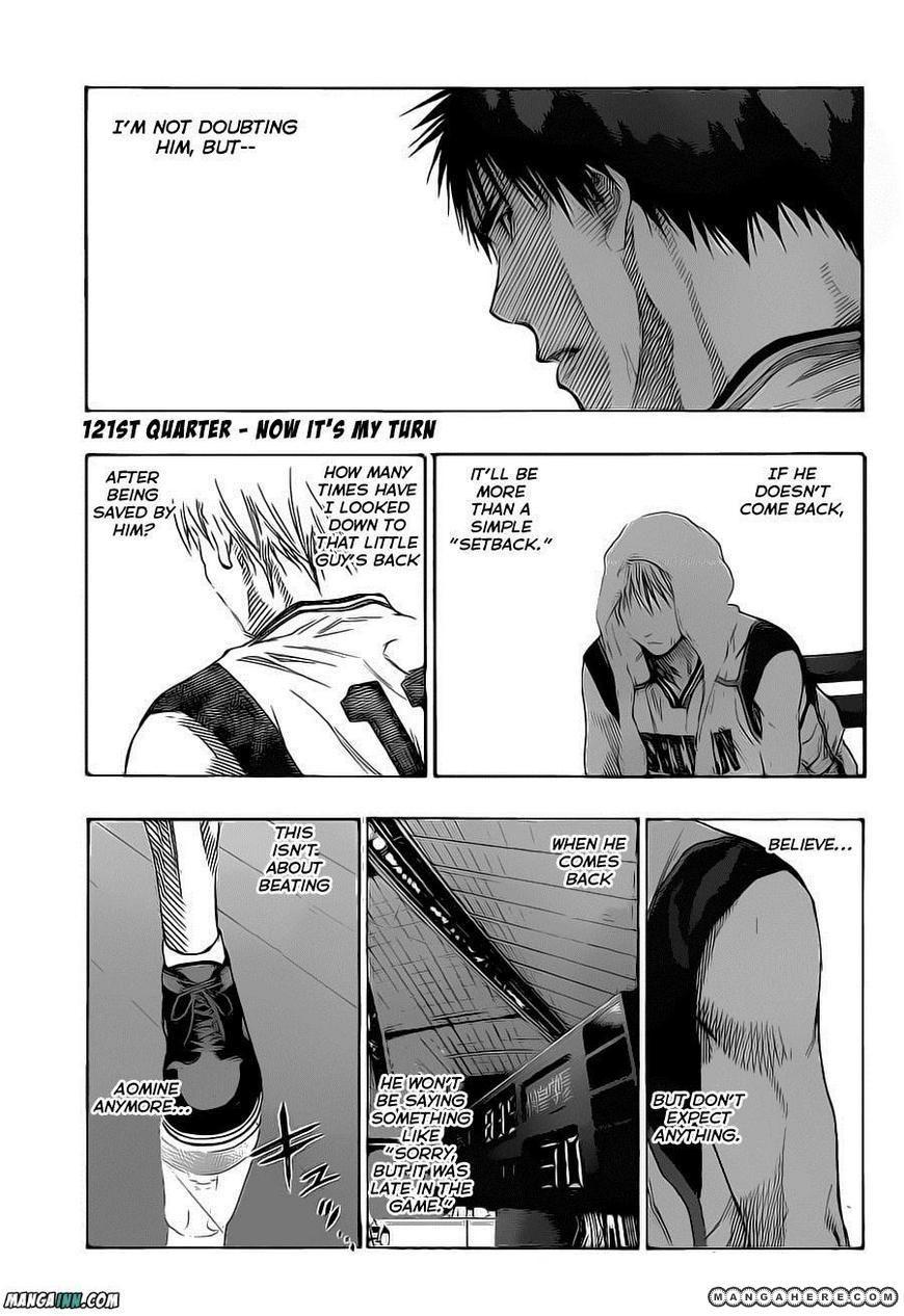 Kuroko no Basket 121 Page 3