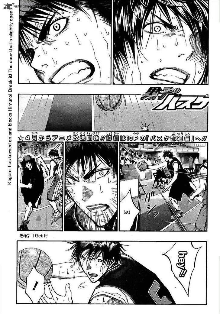 Kuroko no Basket 154 Page 1
