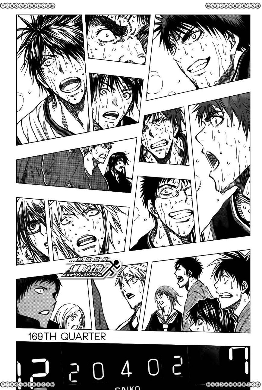 Kuroko no Basket 169 Page 2