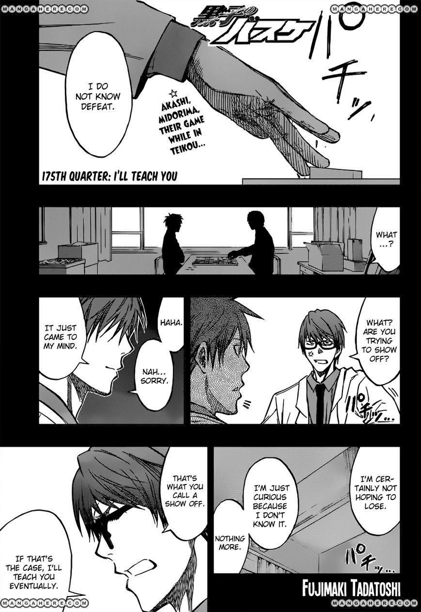 Kuroko no Basket 175 Page 1
