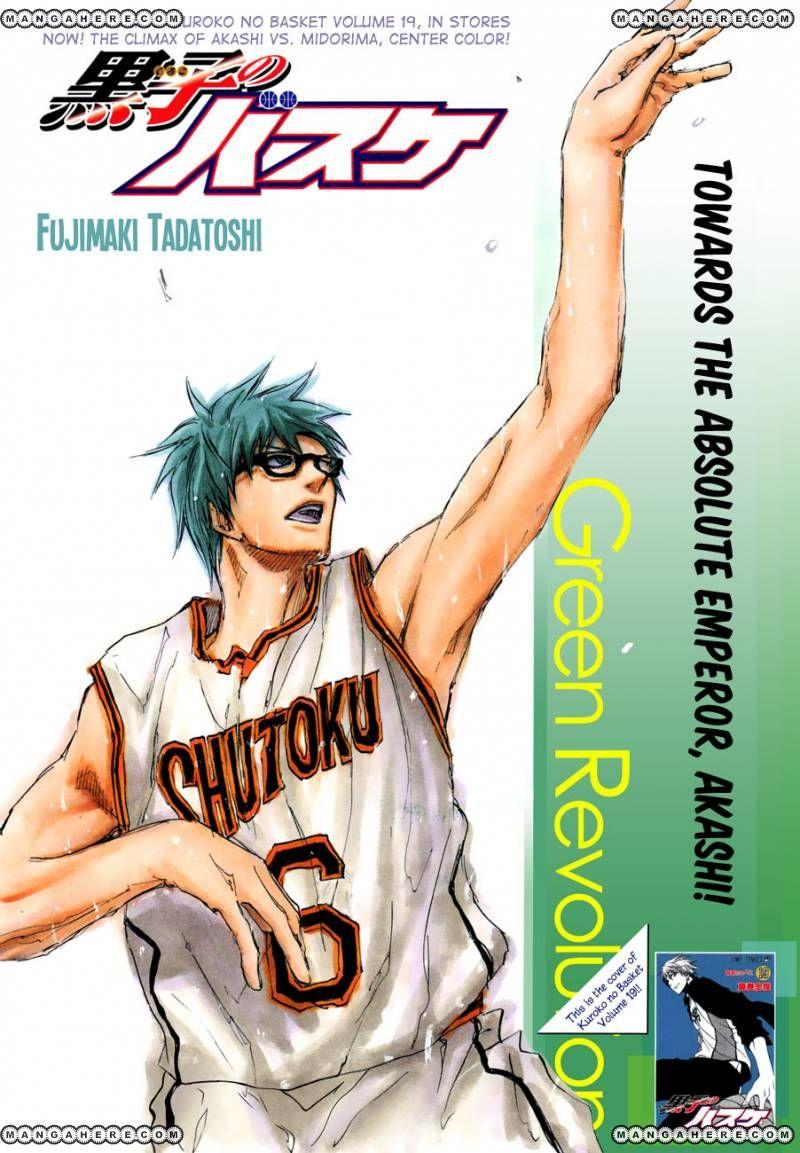 Kuroko no Basket 180 Page 1