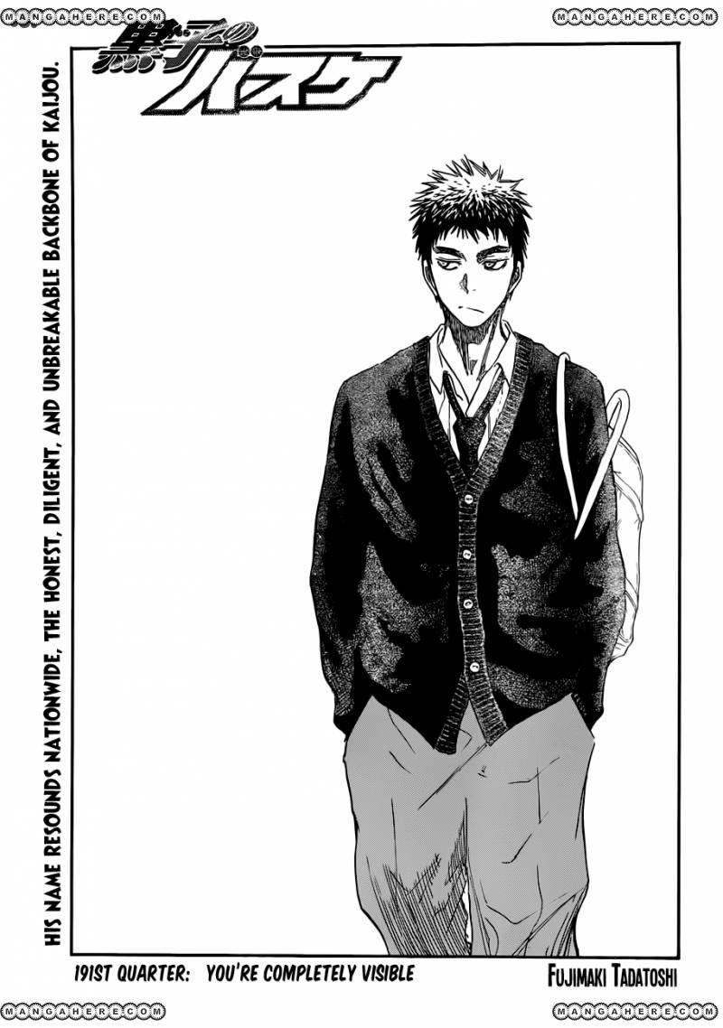 Kuroko no Basket 191 Page 1