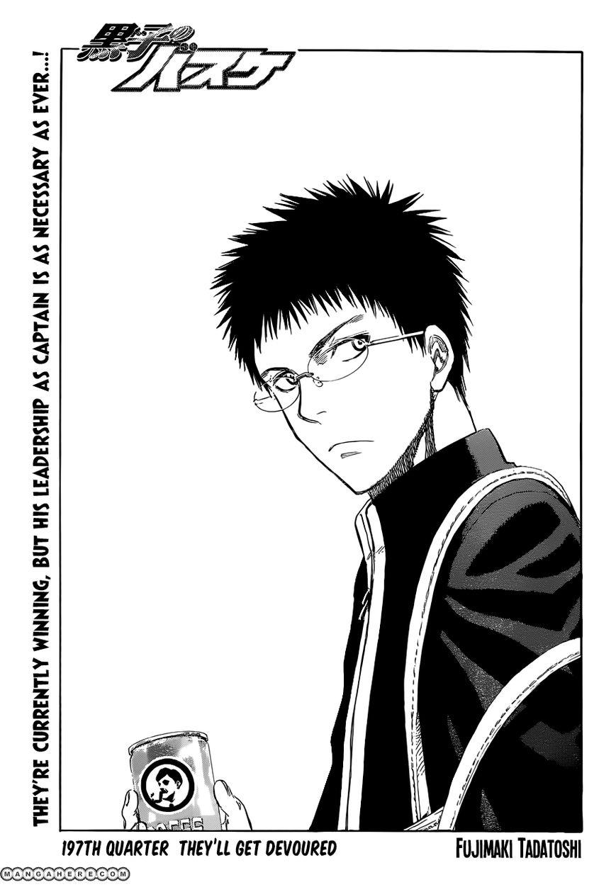 Kuroko no Basket 197 Page 1