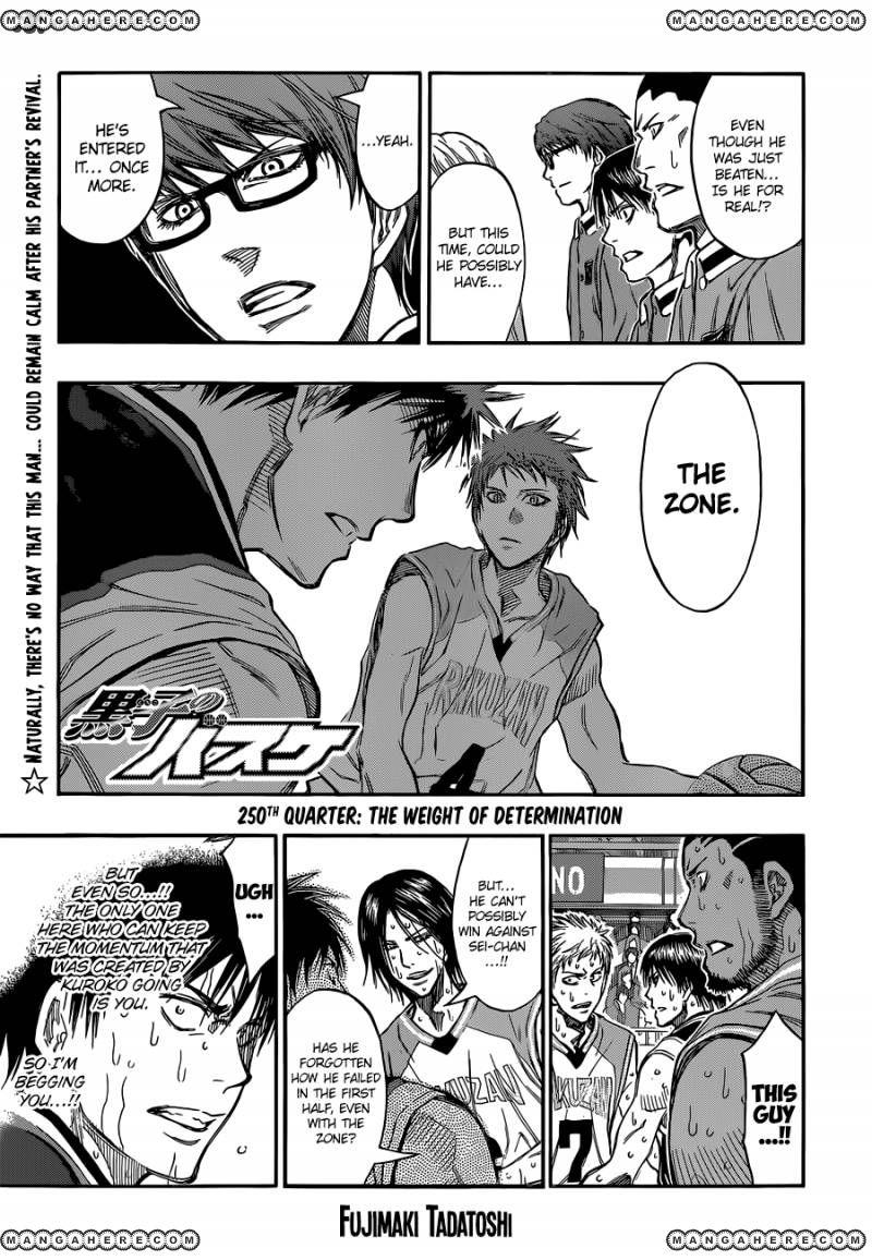 Kuroko no Basket 250 Page 1