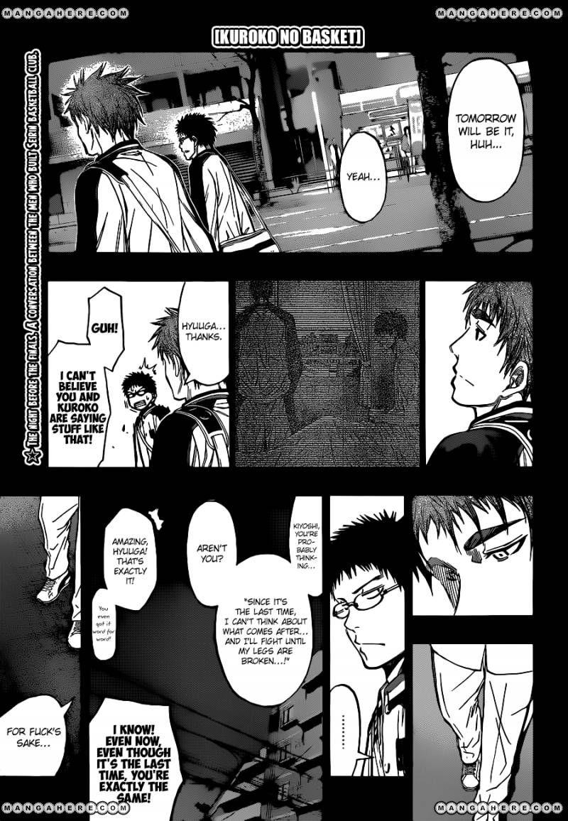 Kuroko no Basket 258 Page 1