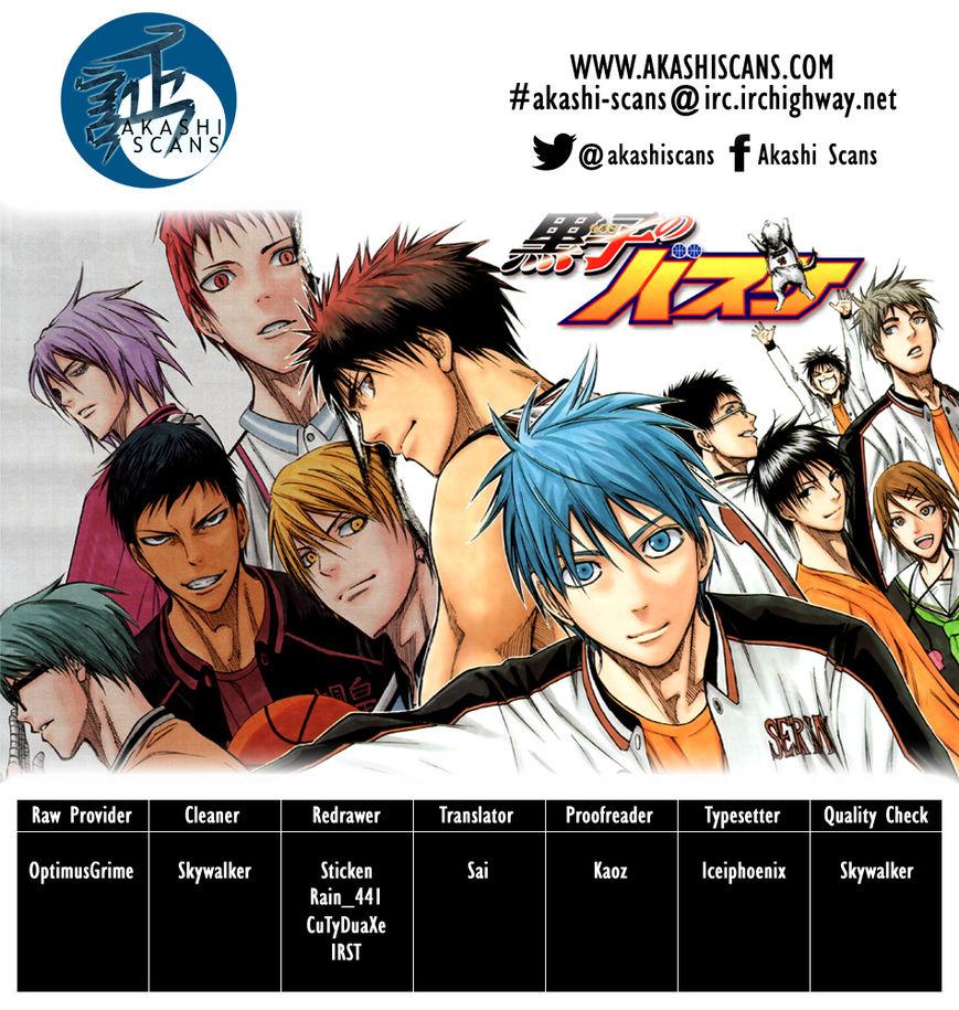 Kuroko no Basket 273 Page 1