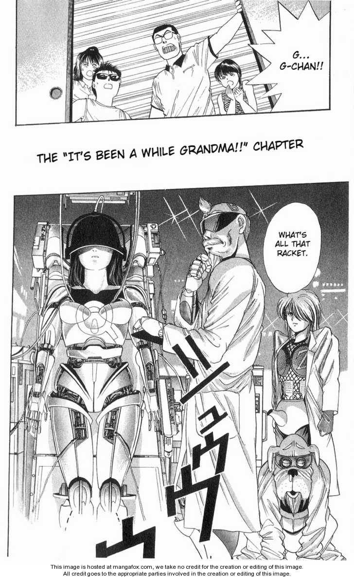 Cyborg Grandpa G 11 Page 2