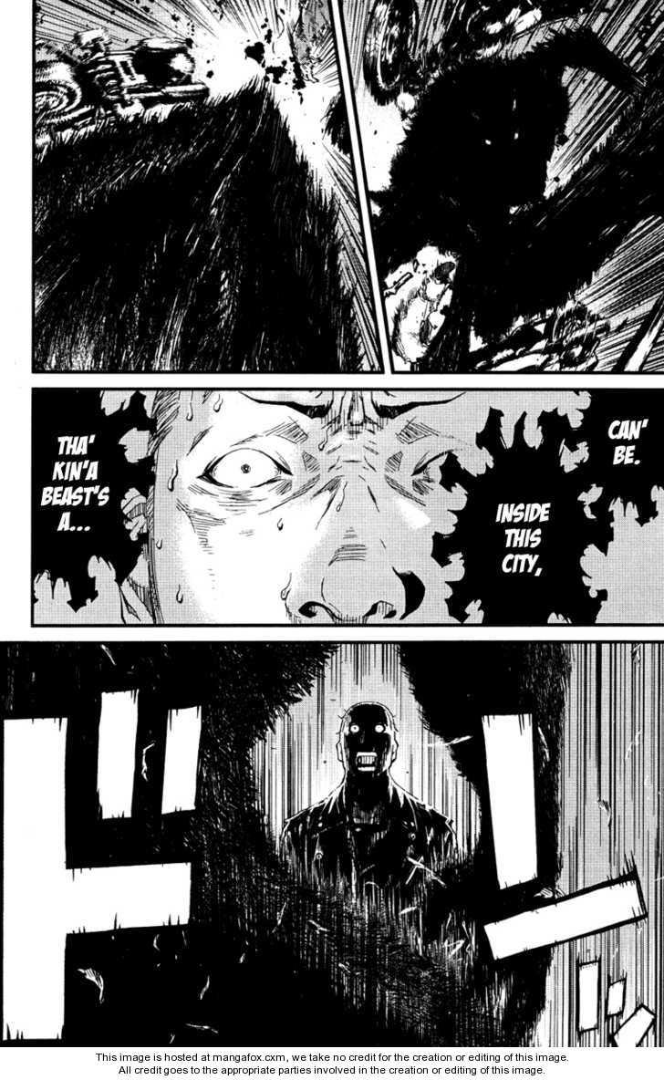 Wolf Guy - Ookami no Monshou 1 Page 40